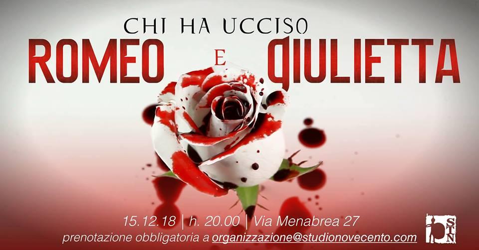 Chi ha ucciso Romeo e Giulietta – Cena con Delitto