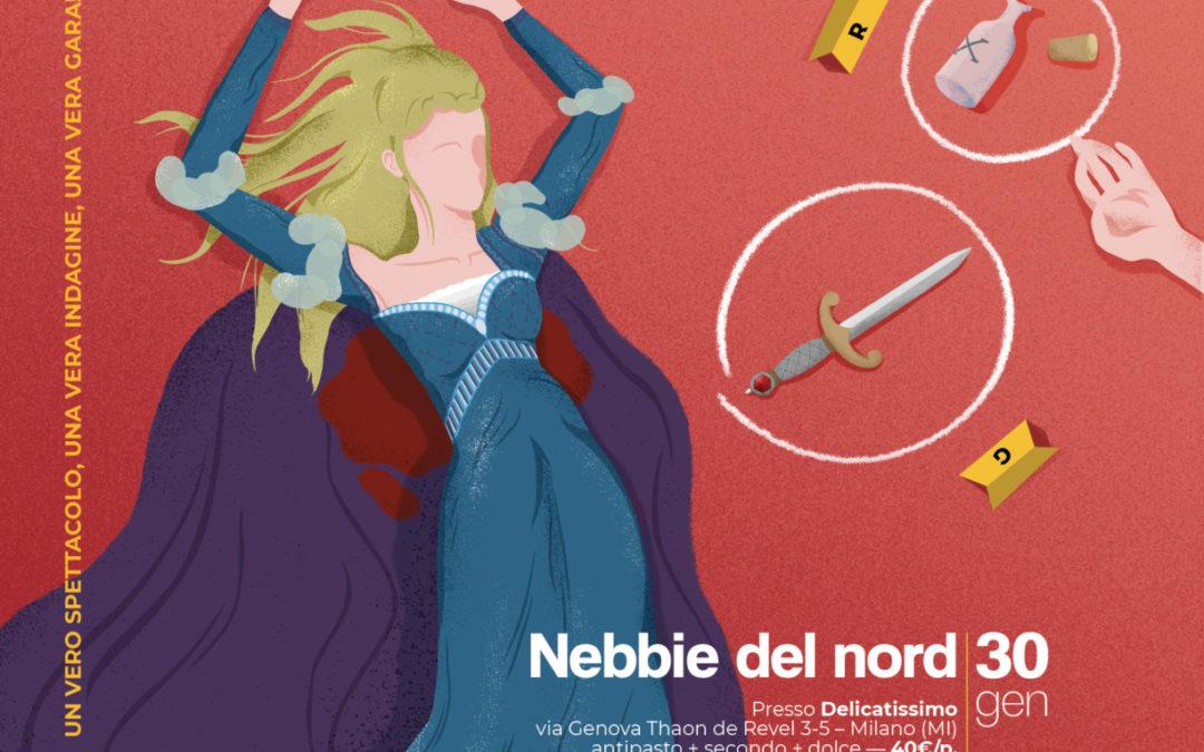 Cena con Delitto – Nebbie del Nord