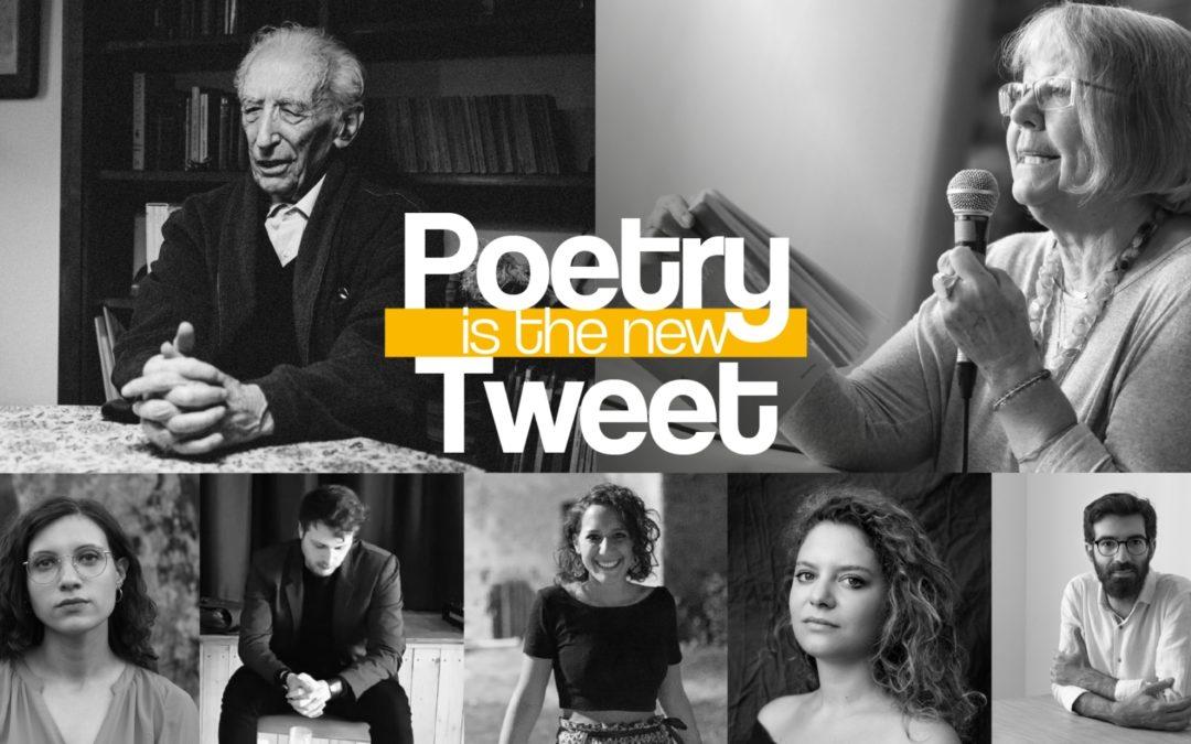 Poetry is the new Tweet