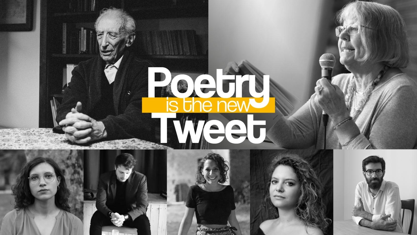 Banner Poetry is the new tweet